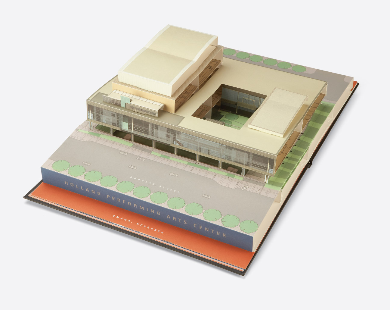 Holland Performing Arts Commemorative Pop Up Book