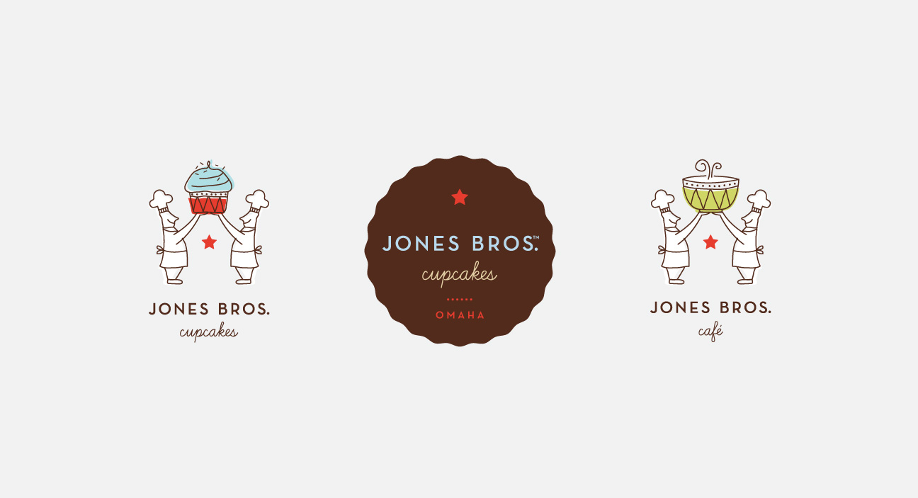 Jones Bros Cupcakes Logo