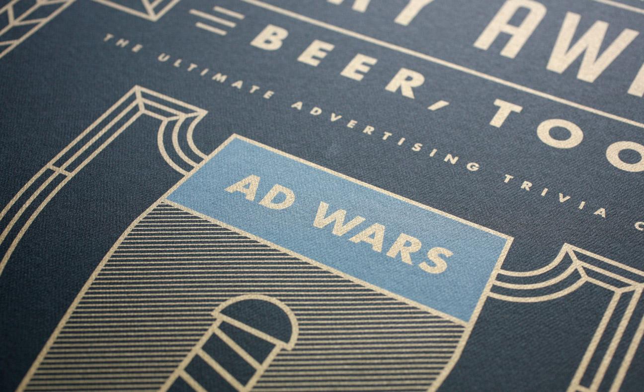 AAF Omaha Ad Wars poster