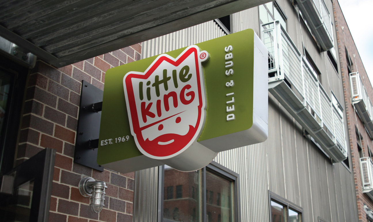 Little King Exterior Sign