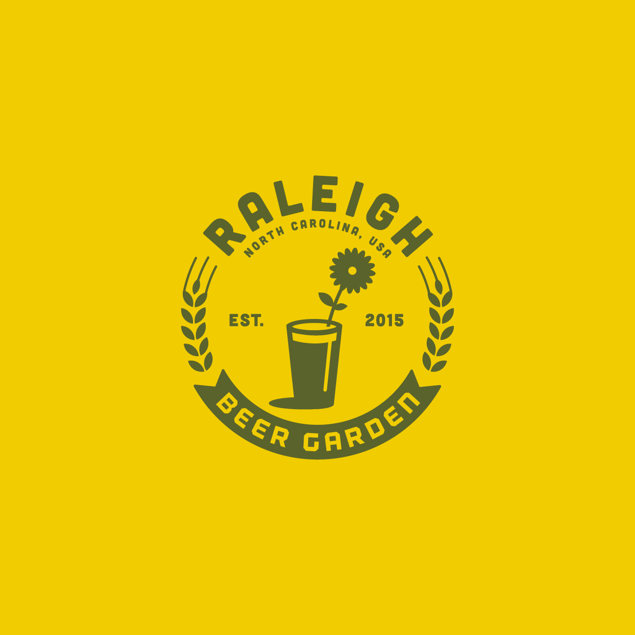 Raleigh Beer Garden Logo