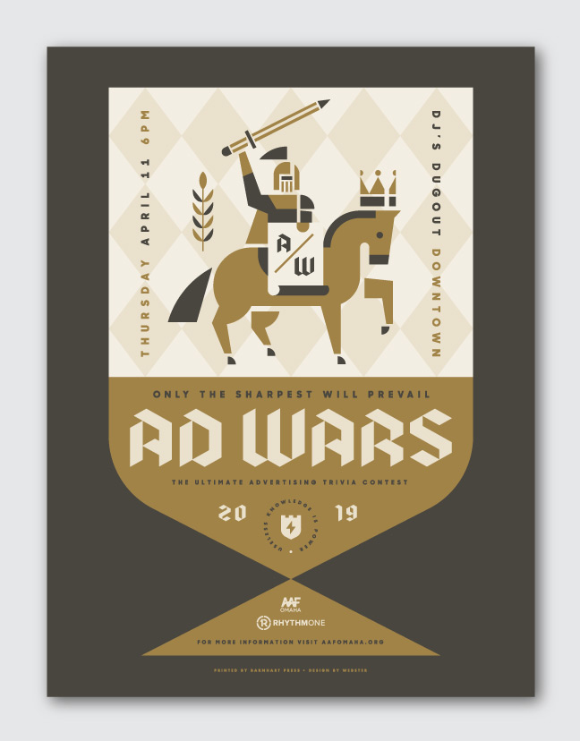 AAF Omaha Ad Wars 2019
