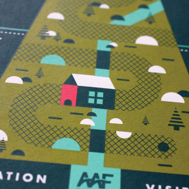 AAF Omaha Mini Golf poster
